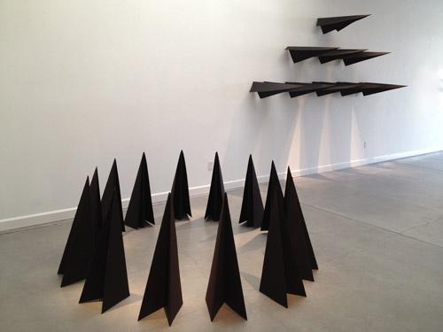 Dark Alliances installation view featuring Stealth Circle Fleet