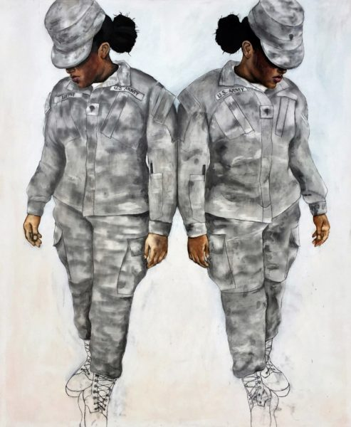Specialist Murphy (2016), oil and graphite on panel, 62 x 52