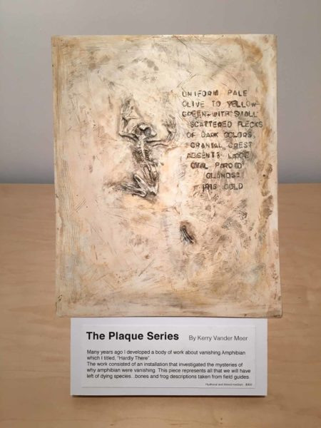 Kerry Vander Meer: The Plaque Series , mixed media
