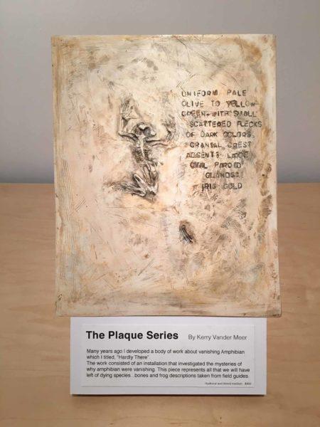 Kerry Vander Meer: The Plaque Series , mixed media